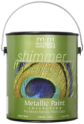 MODERN MASTERS ME209-GAL  Metallic Paint, - Interior Metallic Paint