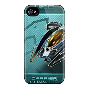 UcS4915OKcD Carrier Comm Gaea Mission Fashion Tpu 4/4s Case Cover For Iphone