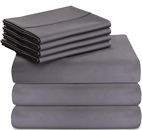 Utopia Bedding 7-Piece Queen Bed Set With Duvet Cover - Flat