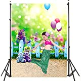 DODOING 3x5ft Vinyl Photo Studio Props Backdrops Bear Balloon Baby Kids Children Theme Photo Photography Background