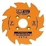 CMT 240.008.04 Biscuit Joiner Blade, 4-Inch Diameter x 8 Teeth, PTFE-Coated.