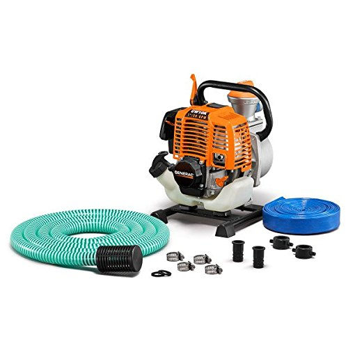 - Generac 6917 CW10K Clean Water Pump with Hose Kit, 1