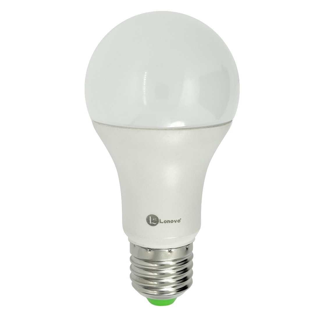 LONOVE RGB Light Bulb 5W LED Remote Control E26 E27 16 Colors Changing Magic Moon Night Lamp