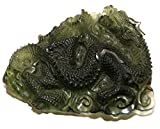 Moldavite Dragon Carving Extremely Rare Collectable Stunning 14.2 Grams 40mm