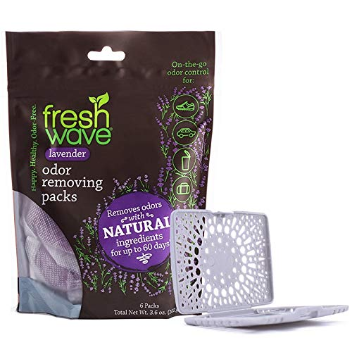 Fresh Wave Lavender Odor Removing Packs + Bonus Fresh Pod Case
