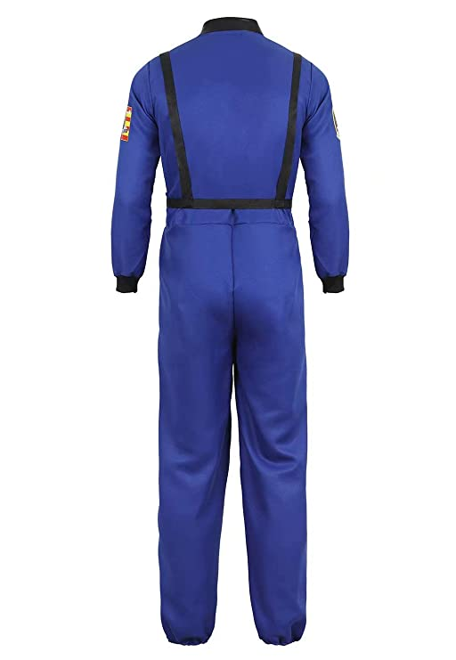 Amazon.com: Disfraz de astronauta para hombre, traje ...