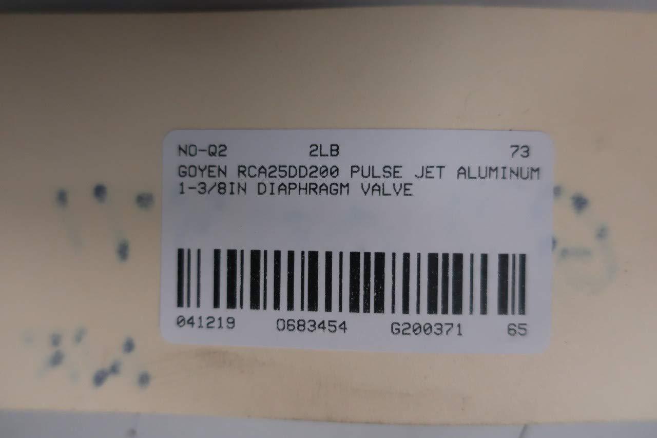 GOYEN RCA25DD200 Pulse Jet Diaphragm Valve Aluminum 1-3//8IN