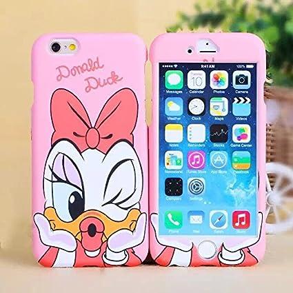 Sufs Coque avant et arrière pour Apple iPhone Motif personnages de Disney avec accessoires Sufs, Daisy Duck, iPhone 6 Plus/6S Plus