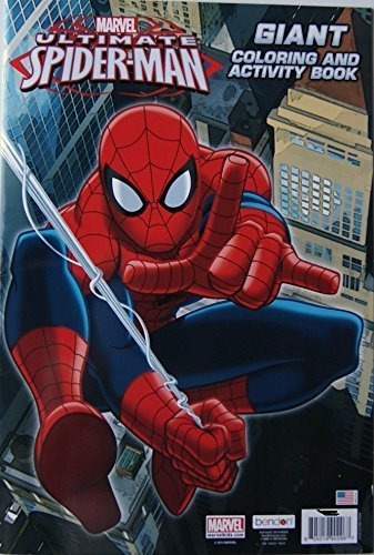 Spider-man Giant Coloring and Activity Book]()