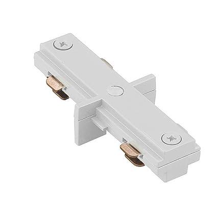 Wac Lighting Hi Wt H Track I Connector White