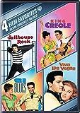 4 Film Favorites: :Elvis Presley Blues: G.I. Blues/ King Creole/ Jailhouse Rock/ Viva Las Vegas
