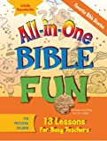 img - for All-in-One Bible Fun for Preschool Children: Favorite Bible Stories: 13 Lessons for Busy Teachers book / textbook / text book