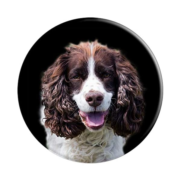 English Springer Spaniel Dogs Cute Dog Lovers Mom Dad Gift PopSockets Grip and Stand for Phones and Tablets 3