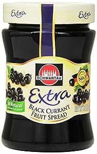 Schwartau Fruit Spread, Black Currant, 12 Ounce