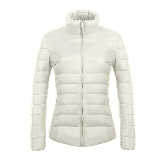 Juleya New Ultra Light White Duck Bas Veste Femmes Slim Hiver Puffer Jacket  Portable Coupe- cbfc399ee748