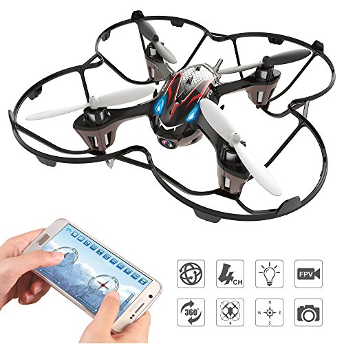 Holy Stone F180W Mini RC Drone FPV Quadcopter...