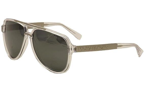 fbbd29fd2f47e Michael Kors Clementine II MK6025 MK 6025 30946G Clear Silver Sunglasses  60mm