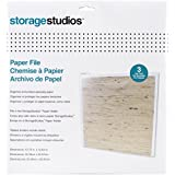 Advantus Cropper Hopper Paper Files with Tabbed Dividers and Labels, 12.75 by 13-Inch, 3-Pack