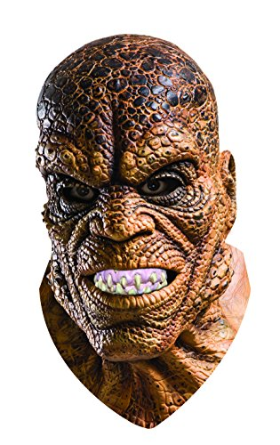 Rubie's Men's Suicide Squad Killer Croc Overhead Latex Mask, Multi, One Size