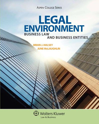 Practical Business Law (Aspen College Series) (Legal Environment Business Law And Business Entities)