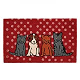 Outdoor Lovely Pet Dogs And Cats Welcome Mat