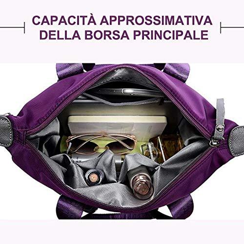 Viaggio Borsa Donna Da Spallaviola Moda Alla Con Una Oseletti Portatile vY6I7gybf