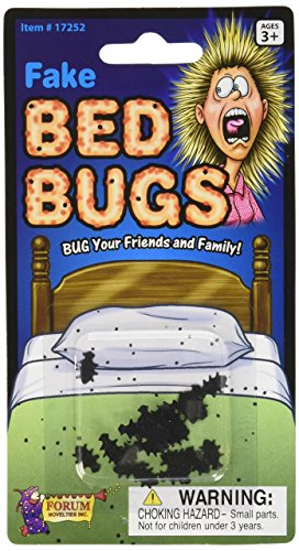 Forum Novelties Fake Bed Bugs - Bug Your Friends and Family! ()