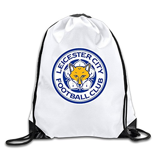 Runy Custom Leicester City Logo Adjustable String Gym Backpack - Oakley Kansas City