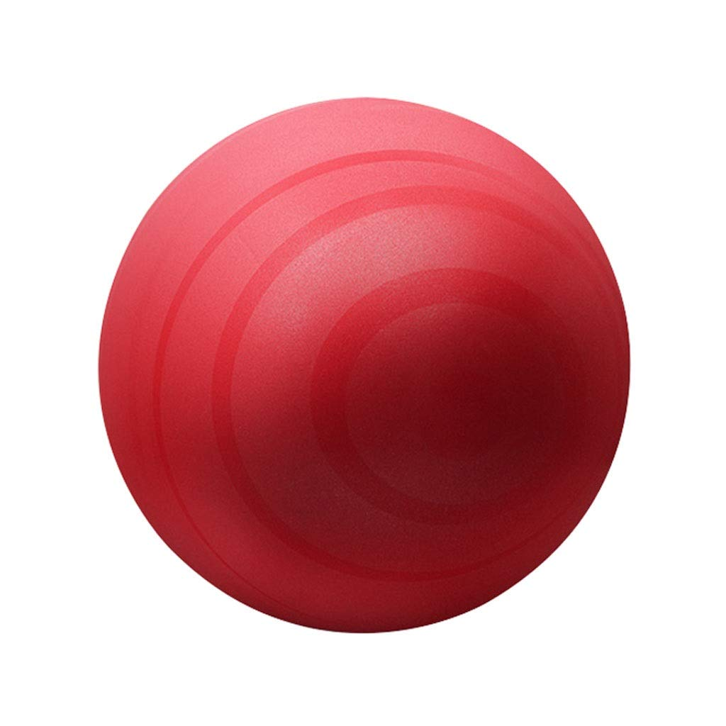 Exercise Ball, 55 Anti-Burst Supports 200kg Gym Ball with Pump, Swiss Ball for Yoga Pilates Pregnancy & Fitness Core Training and Physical Therapy (Color : Red, Size : 55cm)