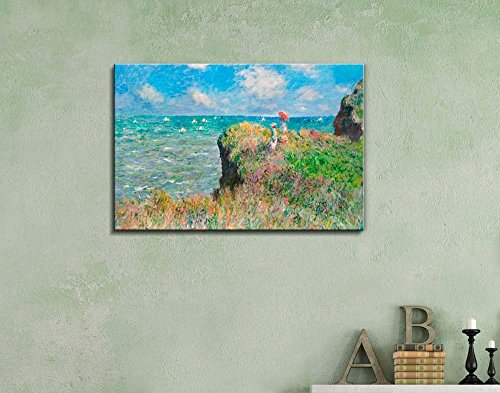 Cliff Walk at Pourville by Claude Monet Wall Decor
