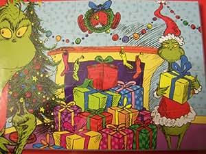 Dr Seuss THE GRINCH 24 Piece Lenticular Christmas Puzzle