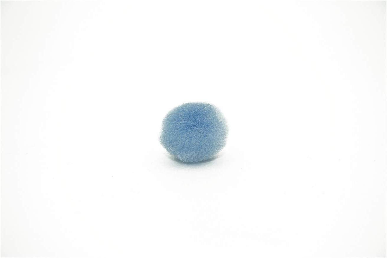 0.5 inch Beige Tiny Craft Pom Poms 100 Pieces