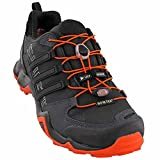 adidas outdoor Men's Terrex Swift R GTX Black/Black/Energy Hiking Shoes - 15 D(M) US