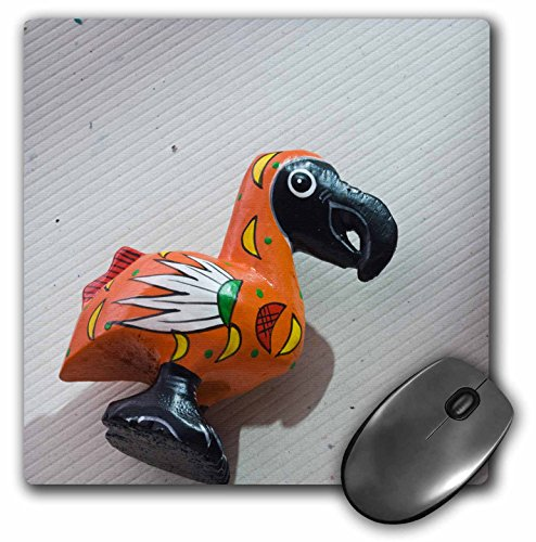 Price comparison product image 3dRose LLC 8 x 8 x 0.25 Inches Mouse Pad, Mauritius, Port Louis, Wooden Dodo Bird Toy, Craft-Af28 Wbi0189 - Walter Bibikow (mp_71321_1)
