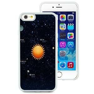 NEW Unique Custom Designed iPhone 6 4.7 Inch TPU Phone Case With Solar System Illustration_White Phone Case