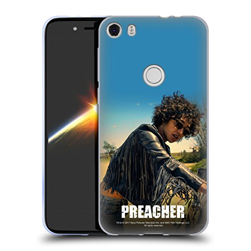 Official Preacher Sunglasses Tulip O'hare Soft Gel Case for Alcatel Idol - O Tulip Hare Sunglasses