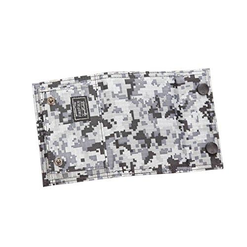 FakeFace - Cartera para mujer , Schnee Camouflage (multicolor) - WLT-43-GRE-de Schnee Camouflage