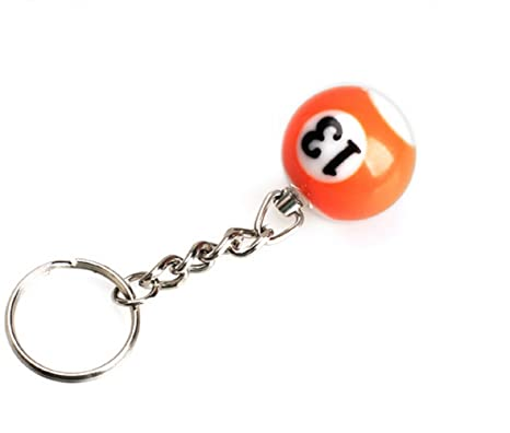 NR.13) Bola de billar Llavero con número A Pool Choice ...