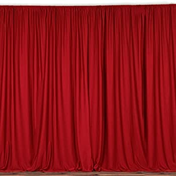 Lovemyfabric 100 Polyester Window Curtain Stage Backdrop Photography 58 Inch