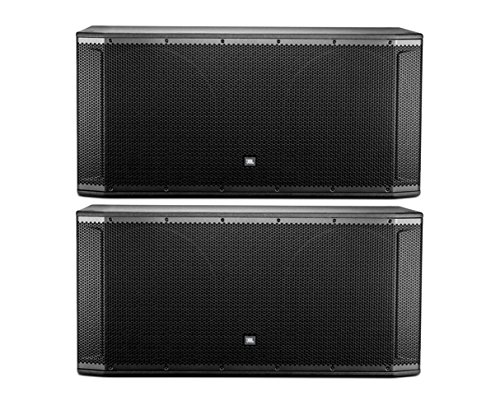 "2x JBL SRX828SP Dual 18"" 2000 W Powered Subwoofer Pair Activ"