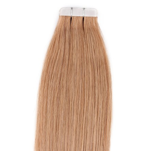 Color Long 27 Dark Blonde Tape in Premium Remy Human Hair Extensions ...