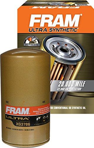 FRAM XG3786 Ultra Synthetic Spin-On Oil Filter (Best Oil Filter For 7.3 Powerstroke)