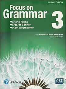 focus on grammar 3 5th edition pdf