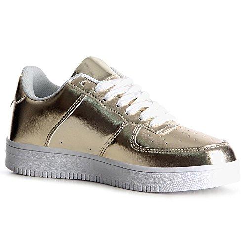 Or Chaussures Topschuhe24 De Sneaker Femmes Sport S6Xnq6