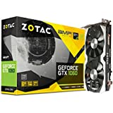 ZOTAC GeForce GTX 1060 AMP Edition, ZT-P10600B-10M, 6GB GDDR5 PCI Express 3.0 Dual-link DVI, Display Port, HDMI IceStorm Cooling Gaming Graphics Card