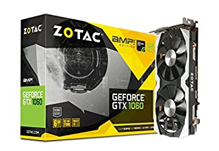 ZOTAC GeForce GTX 1060 AMP Edition, ZT-P10600B-10M, 6GB GDDR5 VR Ready Super Compact Gaming Graphics Card (B01I5O5AP2) | Amazon price tracker / tracking, Amazon price history charts, Amazon price watches, Amazon price drop alerts
