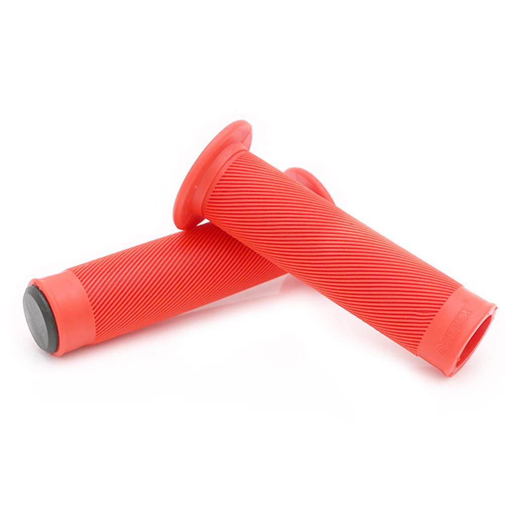 Outtybrave Motorcycle Rubber HandleBar Grip Motocross Refit Handlebar Grips Motorcycle Hand Grip Covers 7/8' 22mm