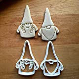 Sweet Prints Inc Set of 2 Boy and Girl Gnome Cookie