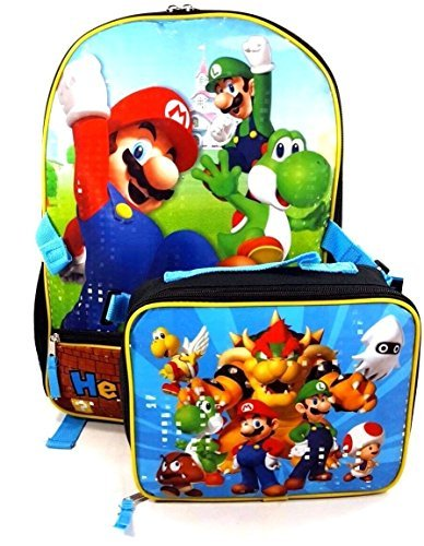 super mario rolling backpack - 3