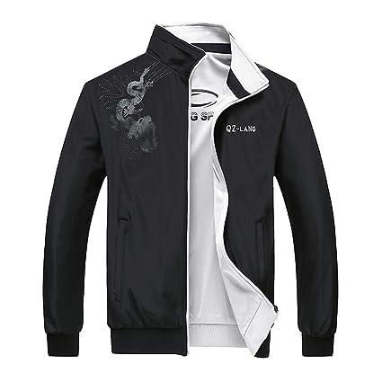 diversifié dans l'emballage mode de luxe détaillant en ligne Vestes et Blousons Hommes Dragon Manteau Homme Solde Veste ...